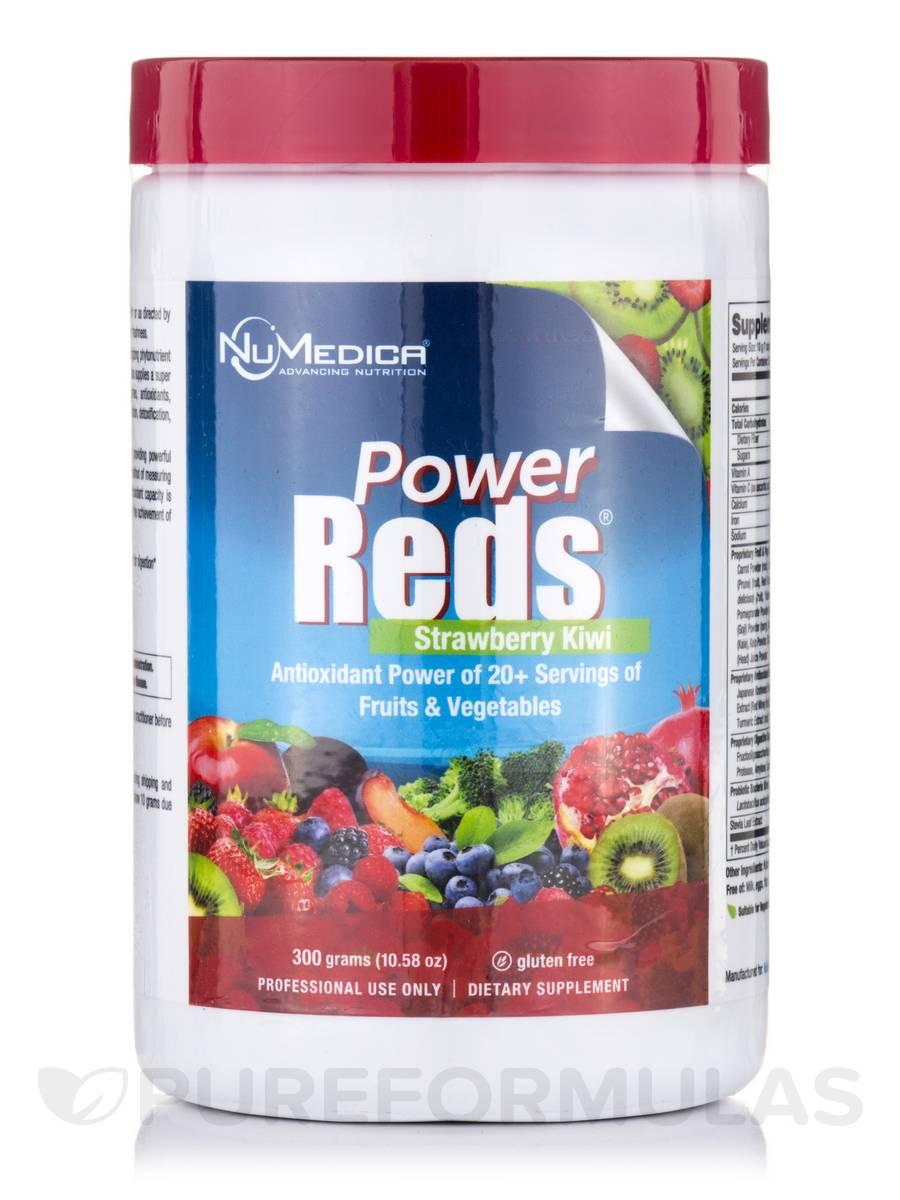 Power Reds Strawberry Kiwi - 10.58 oz (300 Grams)