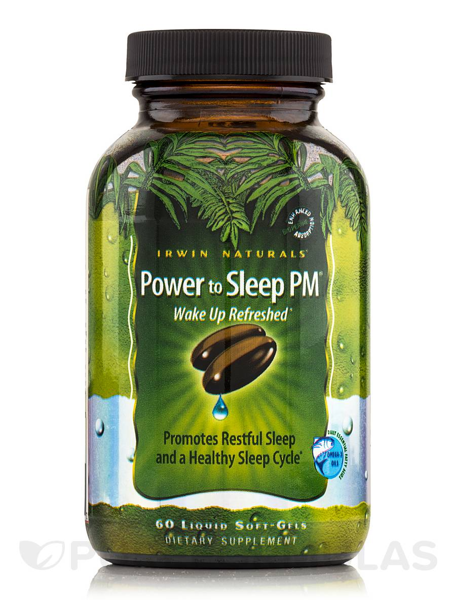 Power to Sleep PM - 60 Liquid Soft-Gels