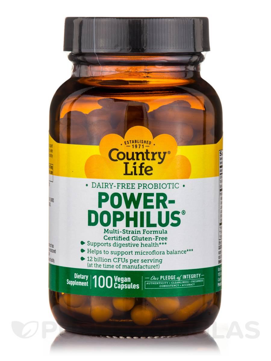 Power-Dophilus Milk Free - 100 Vegan Capsules