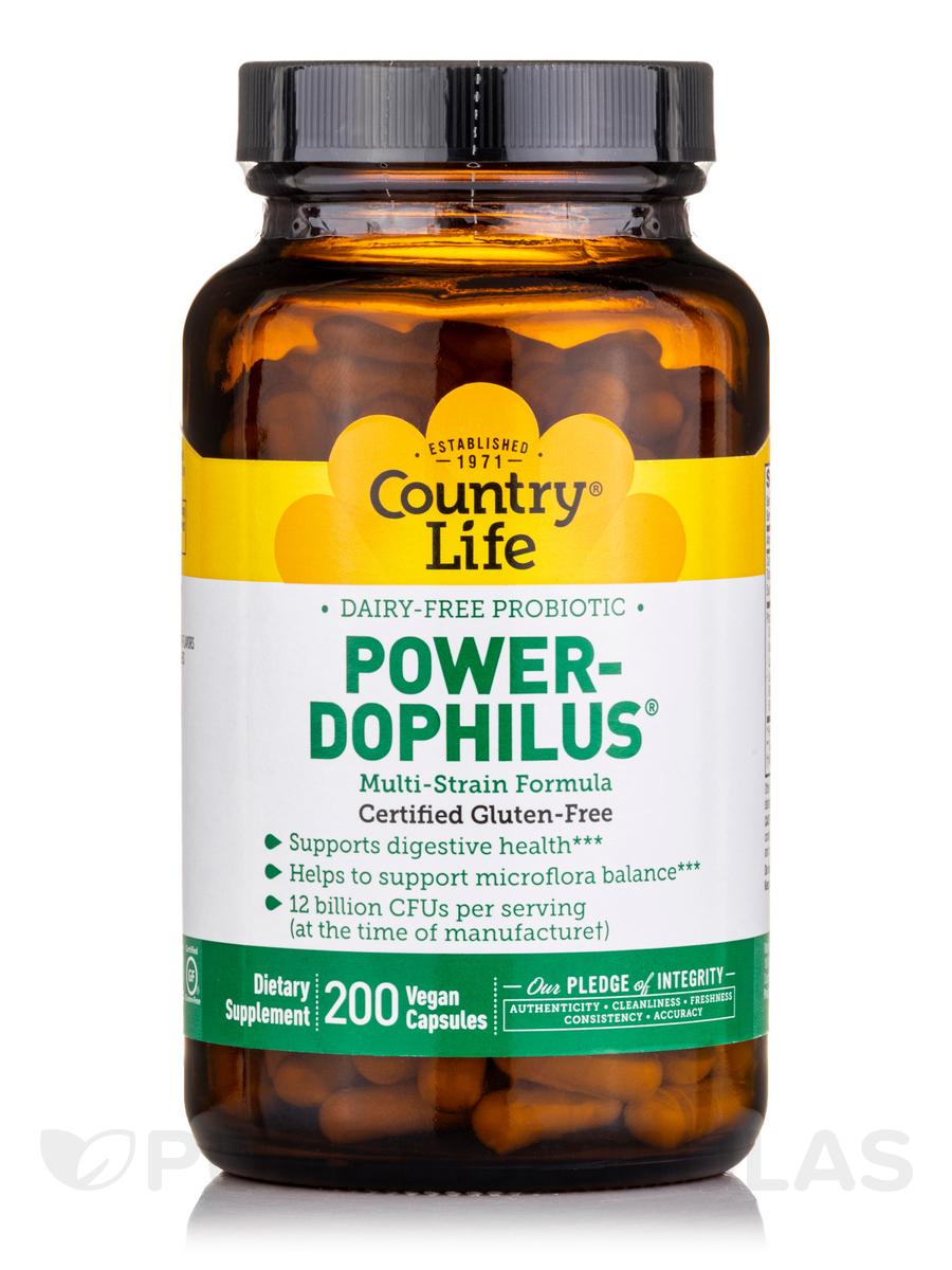 Power-Dophilus (Dairy Free Probiotic) - 200 Vegan Capsules