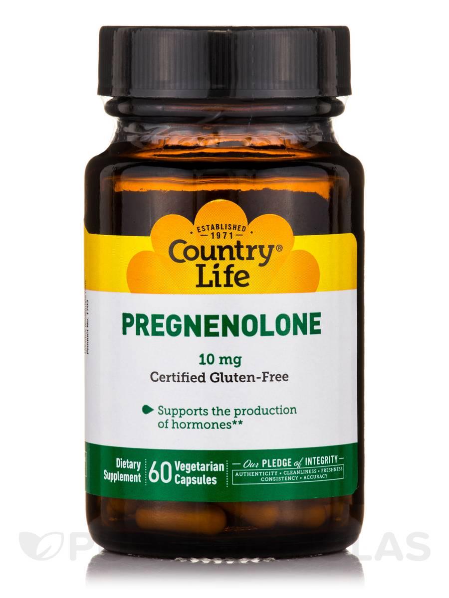 Pregnenolone 10 mg - 60 Vegetarian Capsules