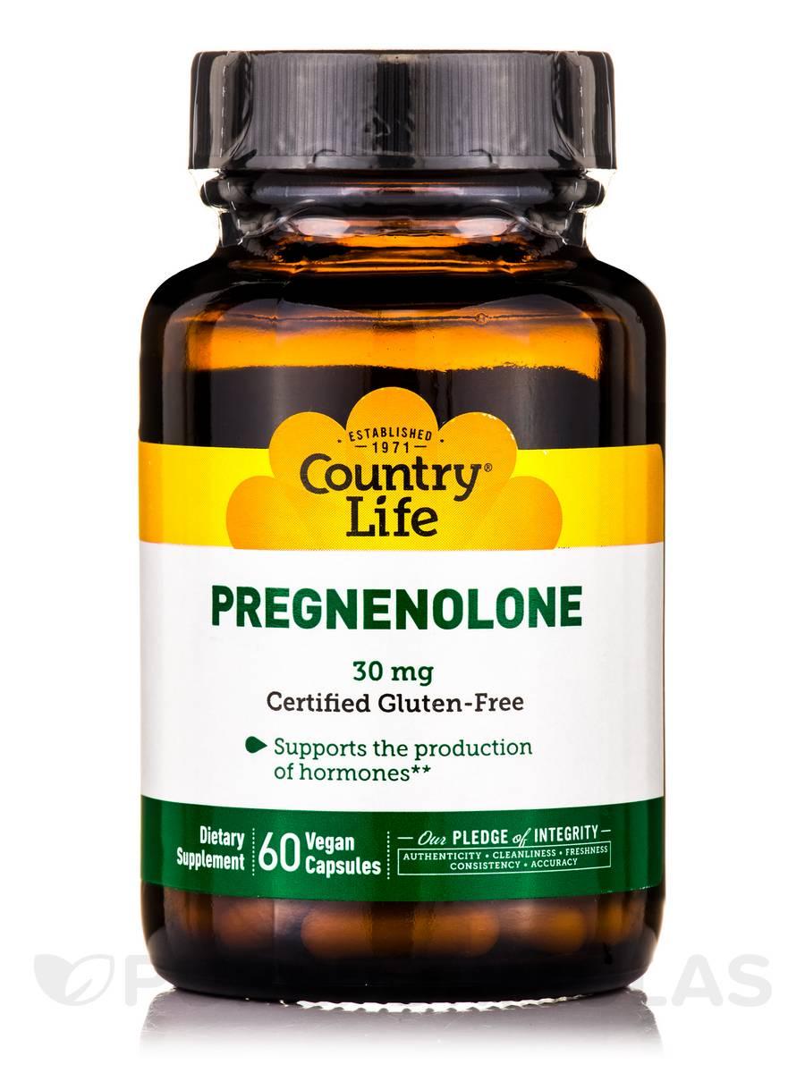 Pregnenolone 30 mg - 60 Vegan Capsules