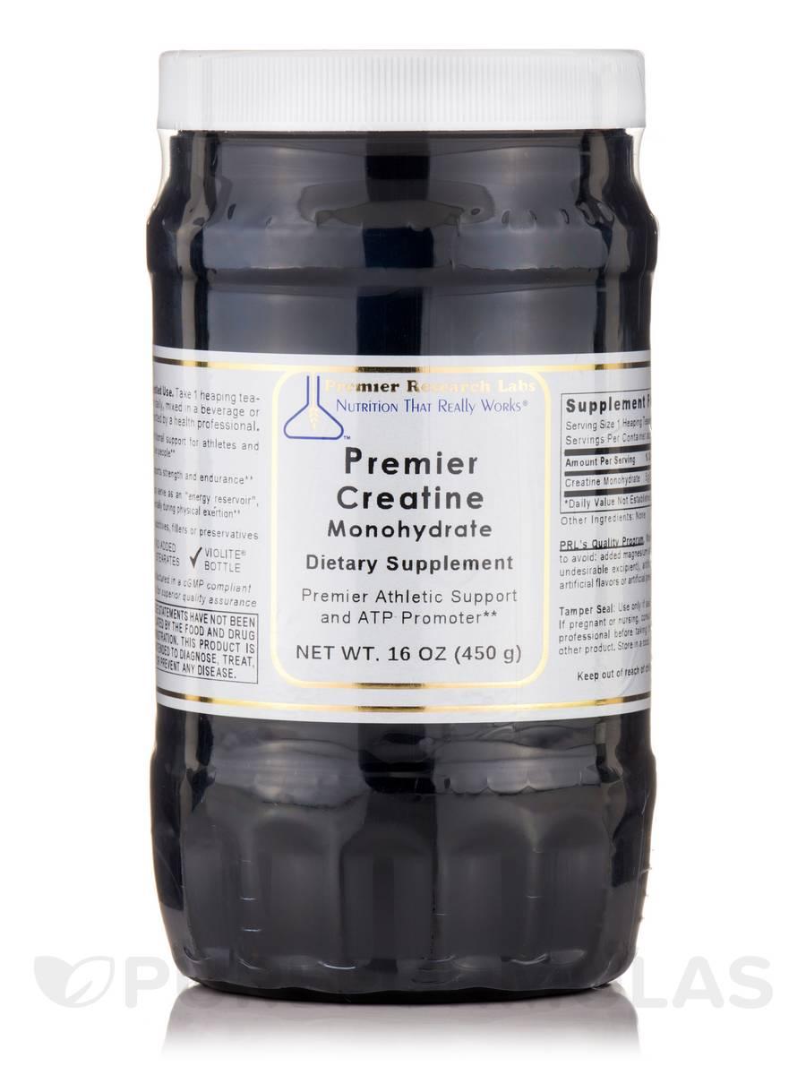 Premier Creatine Monohydrate - 16 oz (450 Grams)