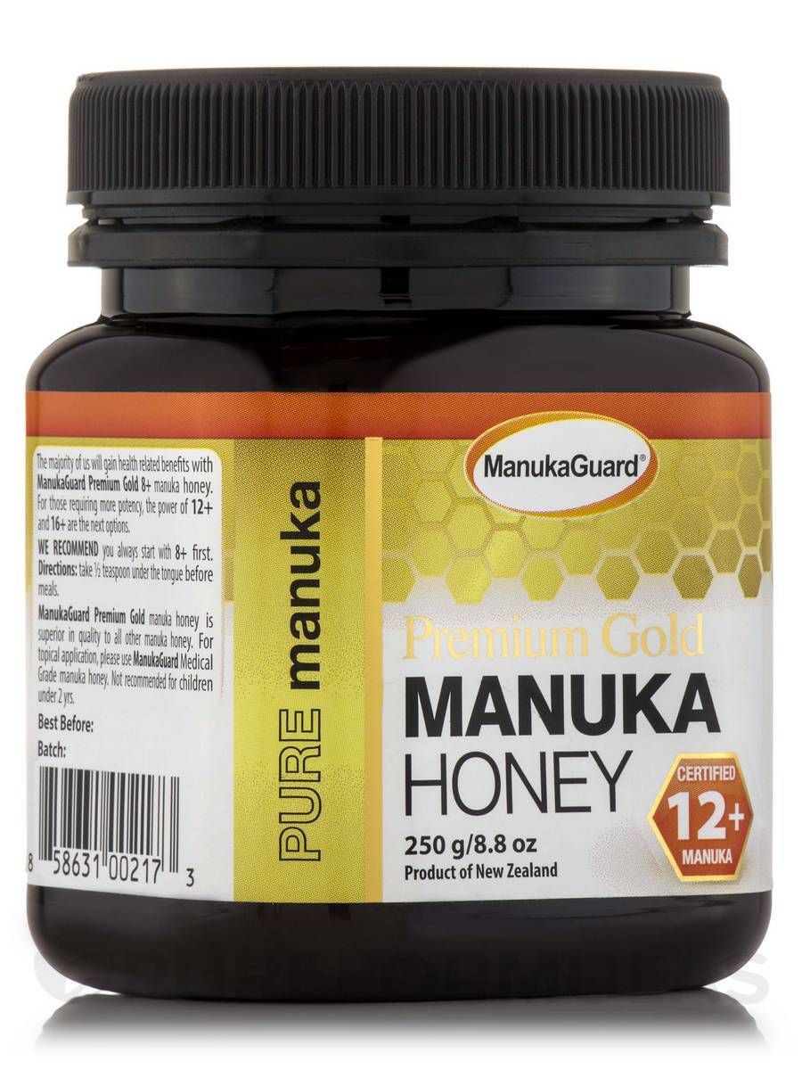 Premium Gold Manuka Honey 12+ - 8.8 oz (250 Grams)