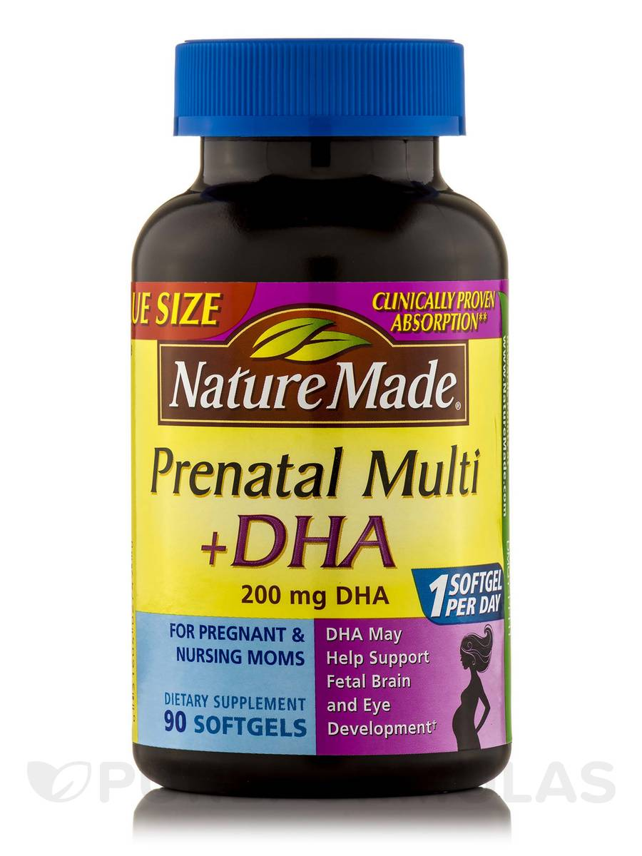 Prenatal Multi plus DHA - 90 Softgels