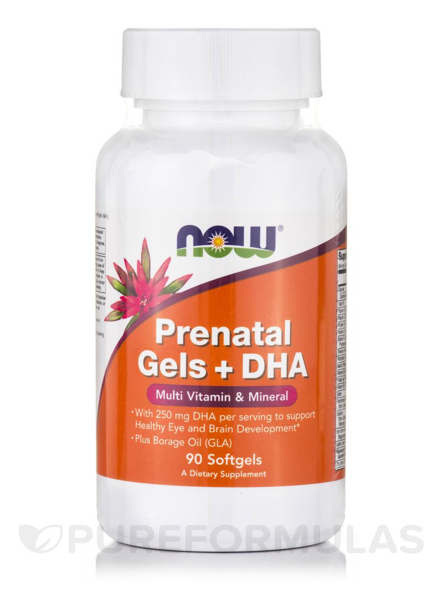 PreNatal Multivitamin with DHA - 90 Softgels