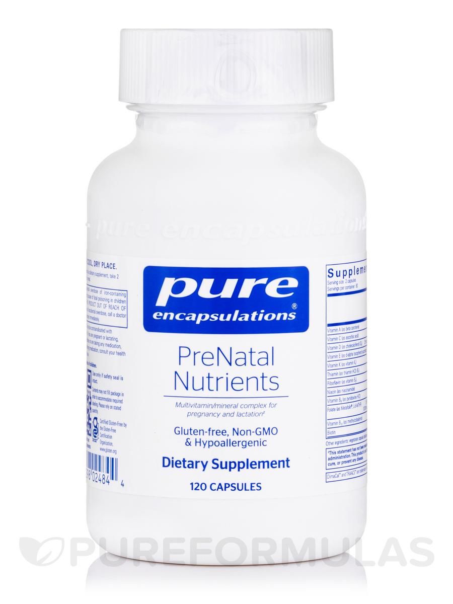 PreNatal Nutrients - 120 Capsules