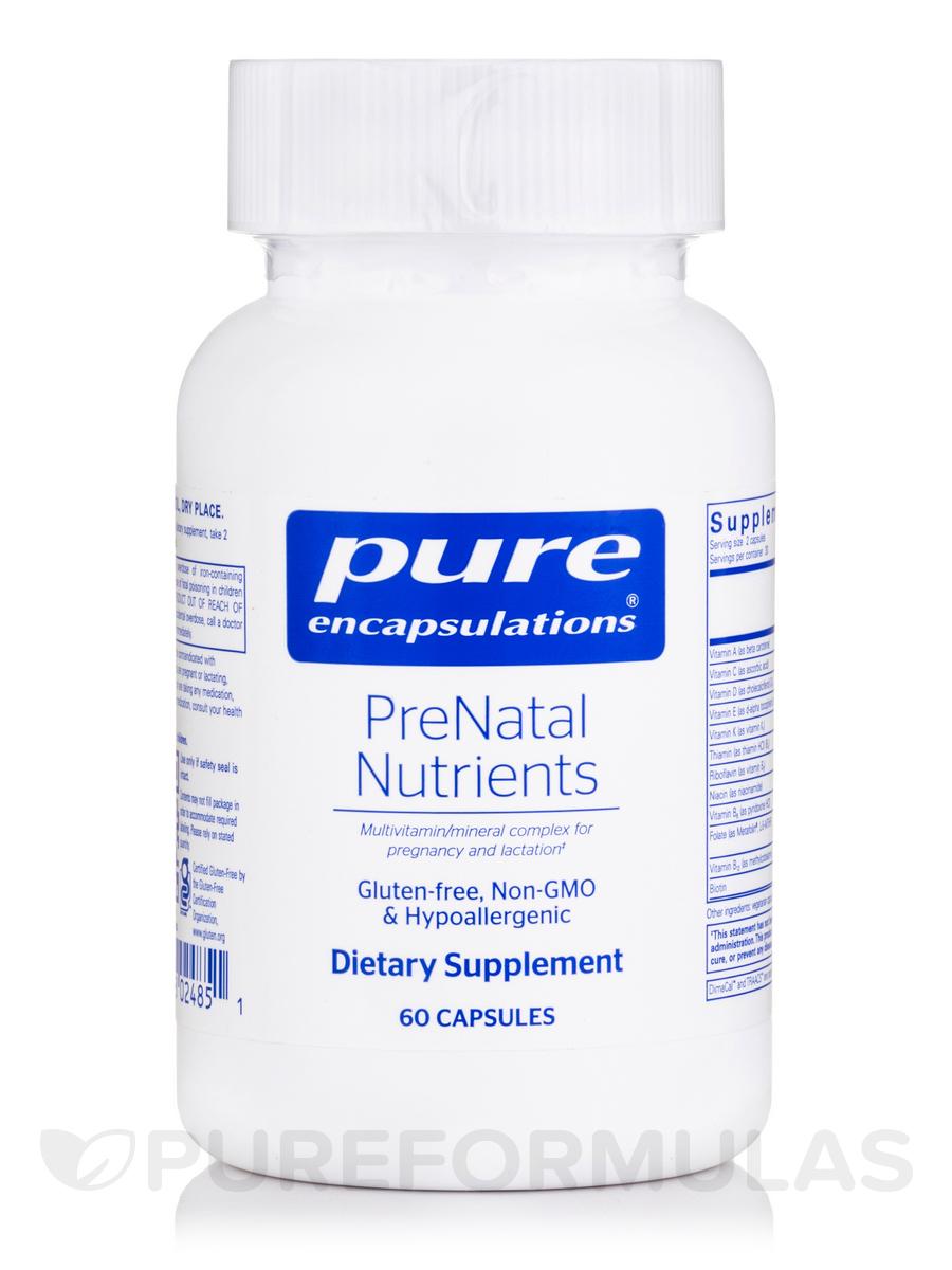 PreNatal Nutrients - 60 Capsules
