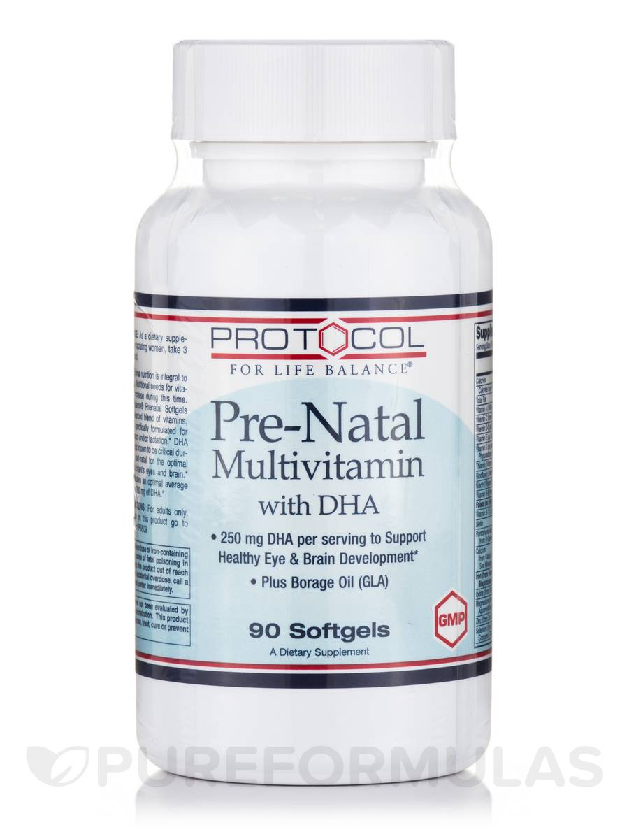 Pre-Natal Multivitamin with DHA - 90 Softgels