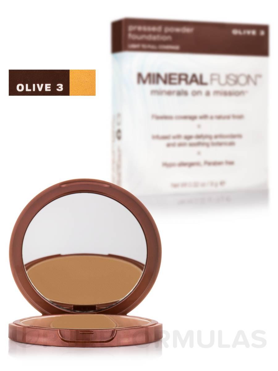 Pressed Powder Foundation - Olive 3 - 0.32 oz (9 Grams)
