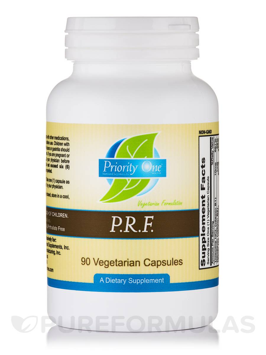 P.R.F.(Pain Relief Formula) - 90 Vegetarian Capsules