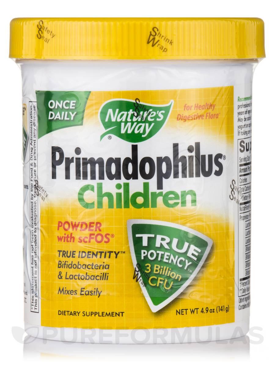 Primadophilus® Children Powder with scFOS® - 4.9 oz (141 Grams)