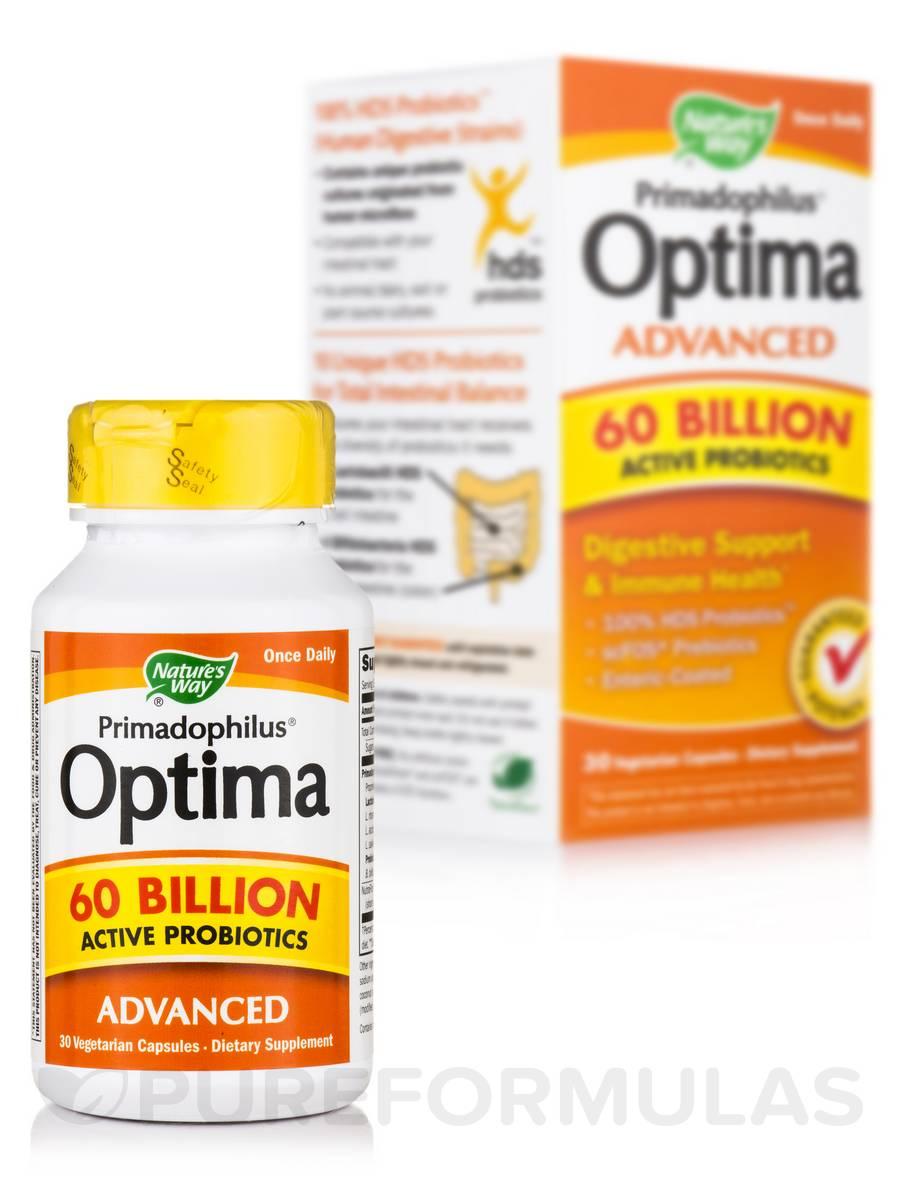 Primadophilus® Optima 60 Billion - 30 Vegetarian Capsules