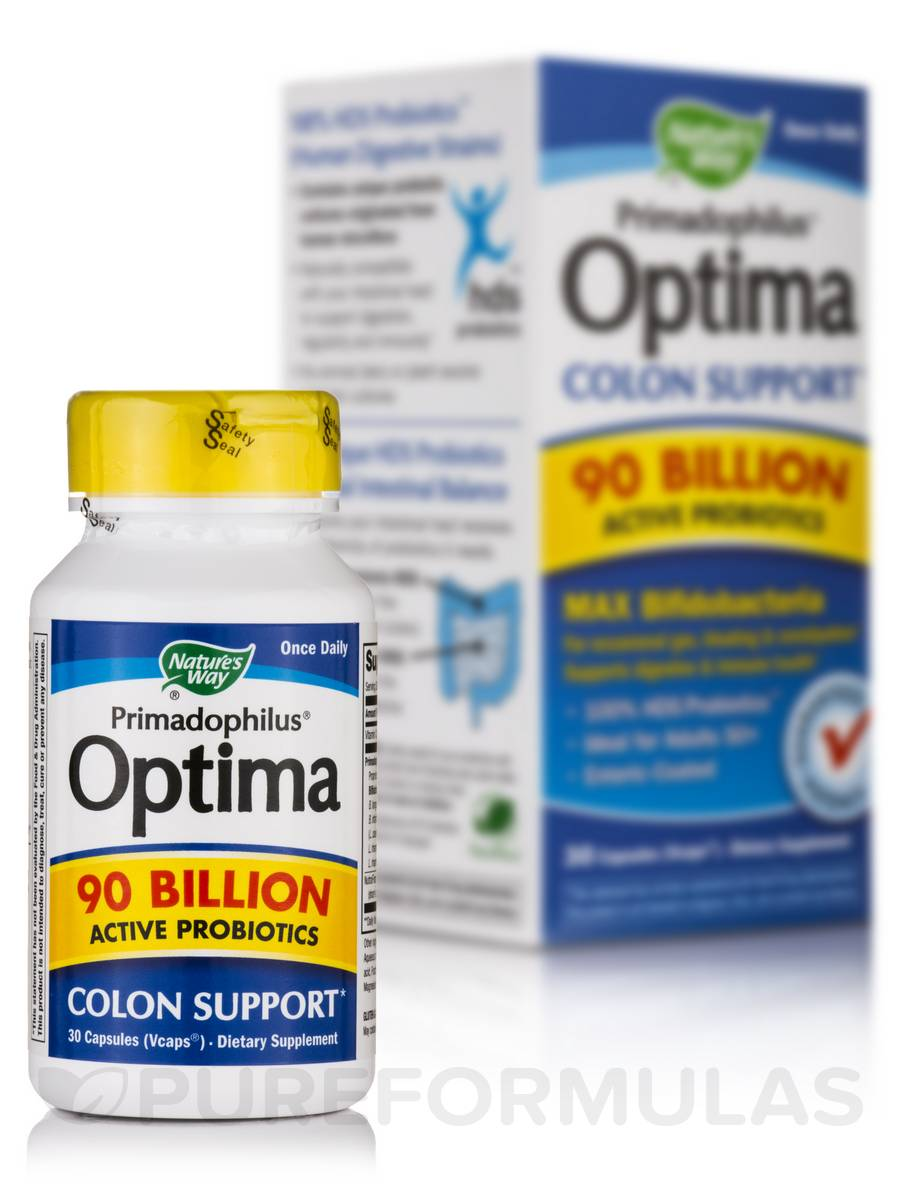 Primadophilus Optima 90 Billion - 30 VCaps