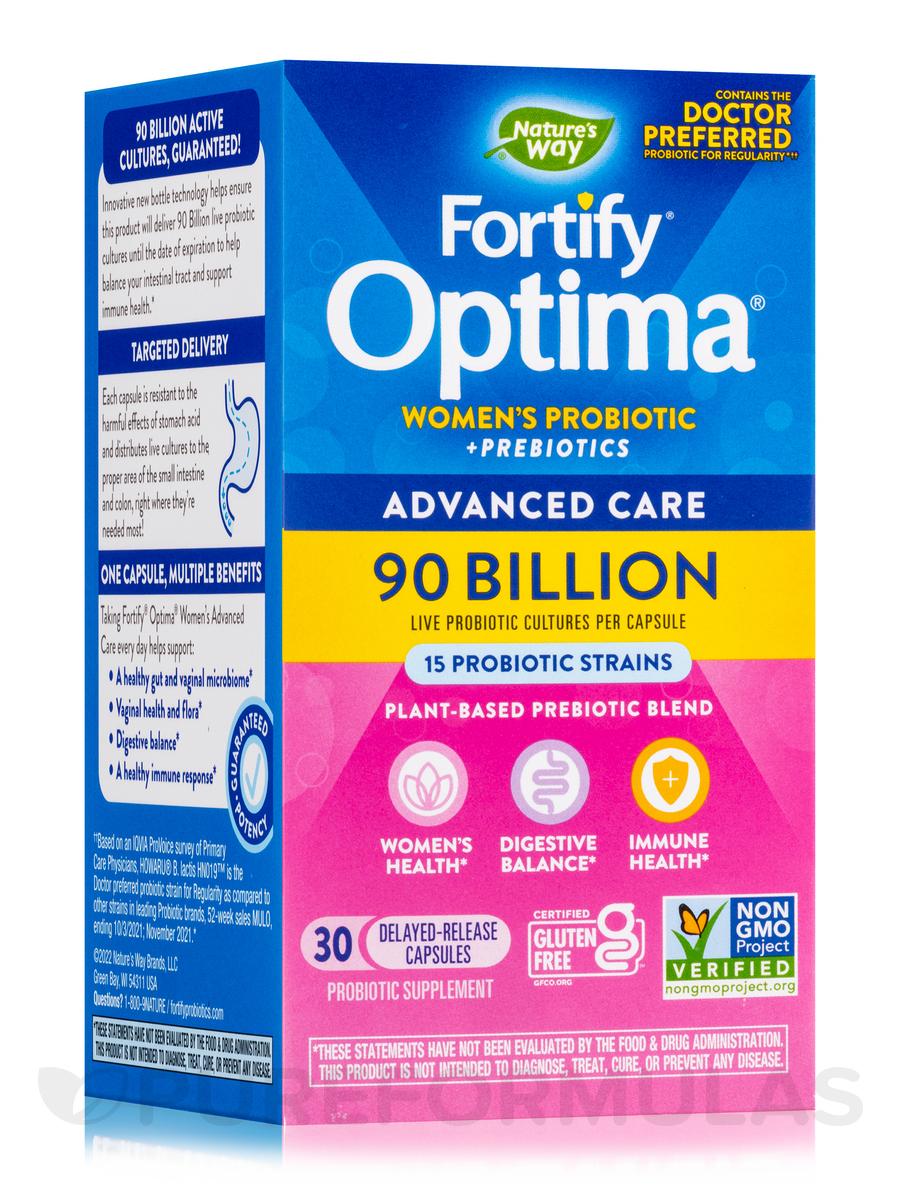 Fortify™ Optima® Women's Probiotic 90 Billion - 30 Vegetarian Capsules