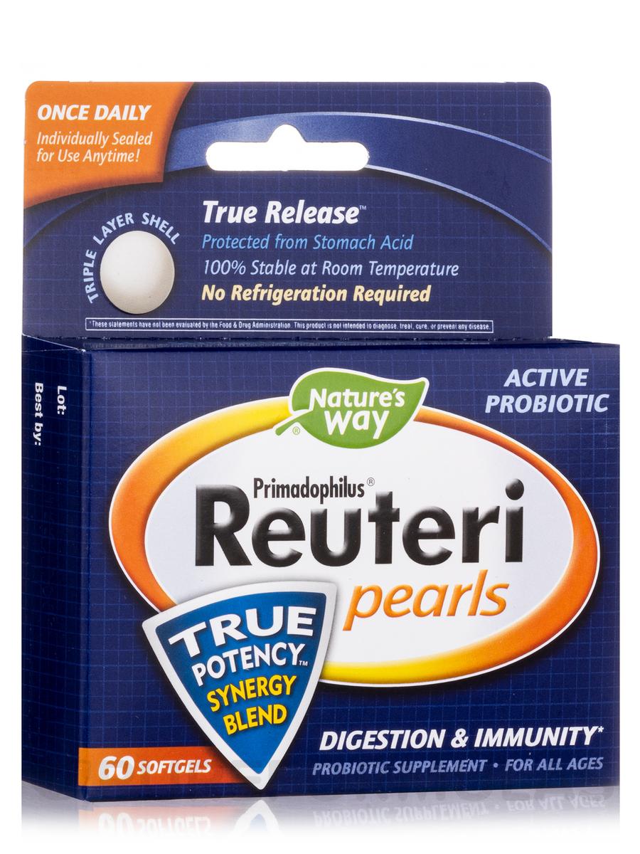 Primadophilus Reuteri - 60 Pearls