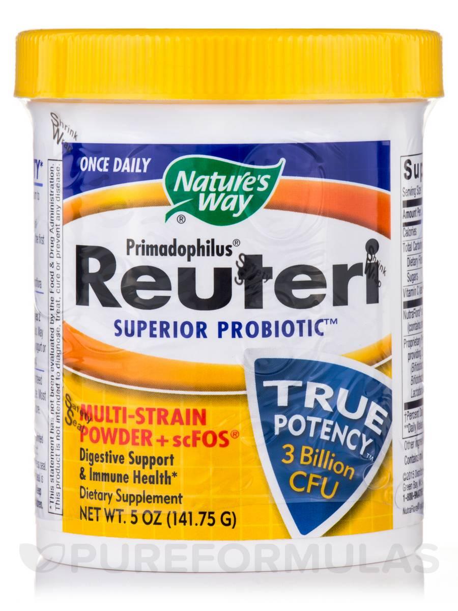 Primadophilus Reuteri Powder - 5 oz (141.75 Grams)