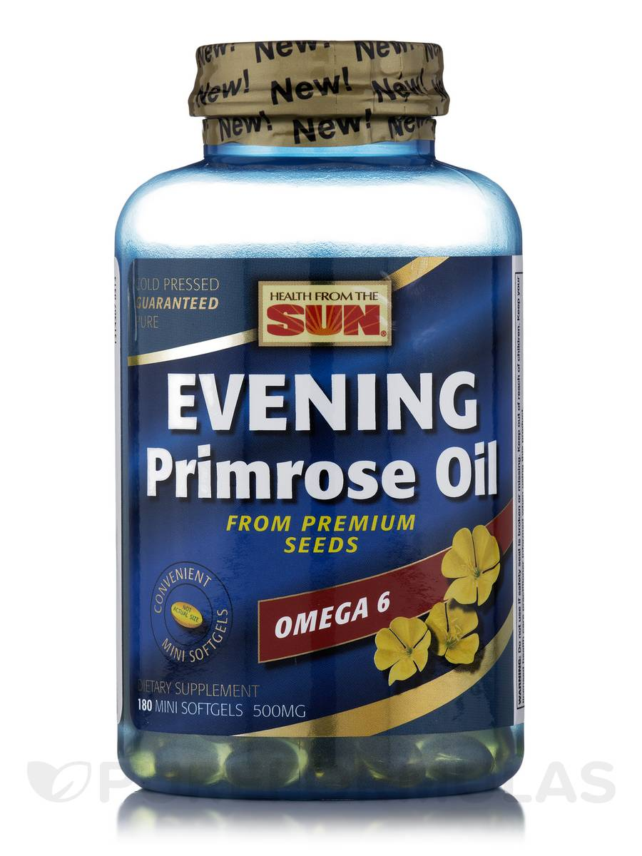 Evening Primrose Oil - 180 Softgels