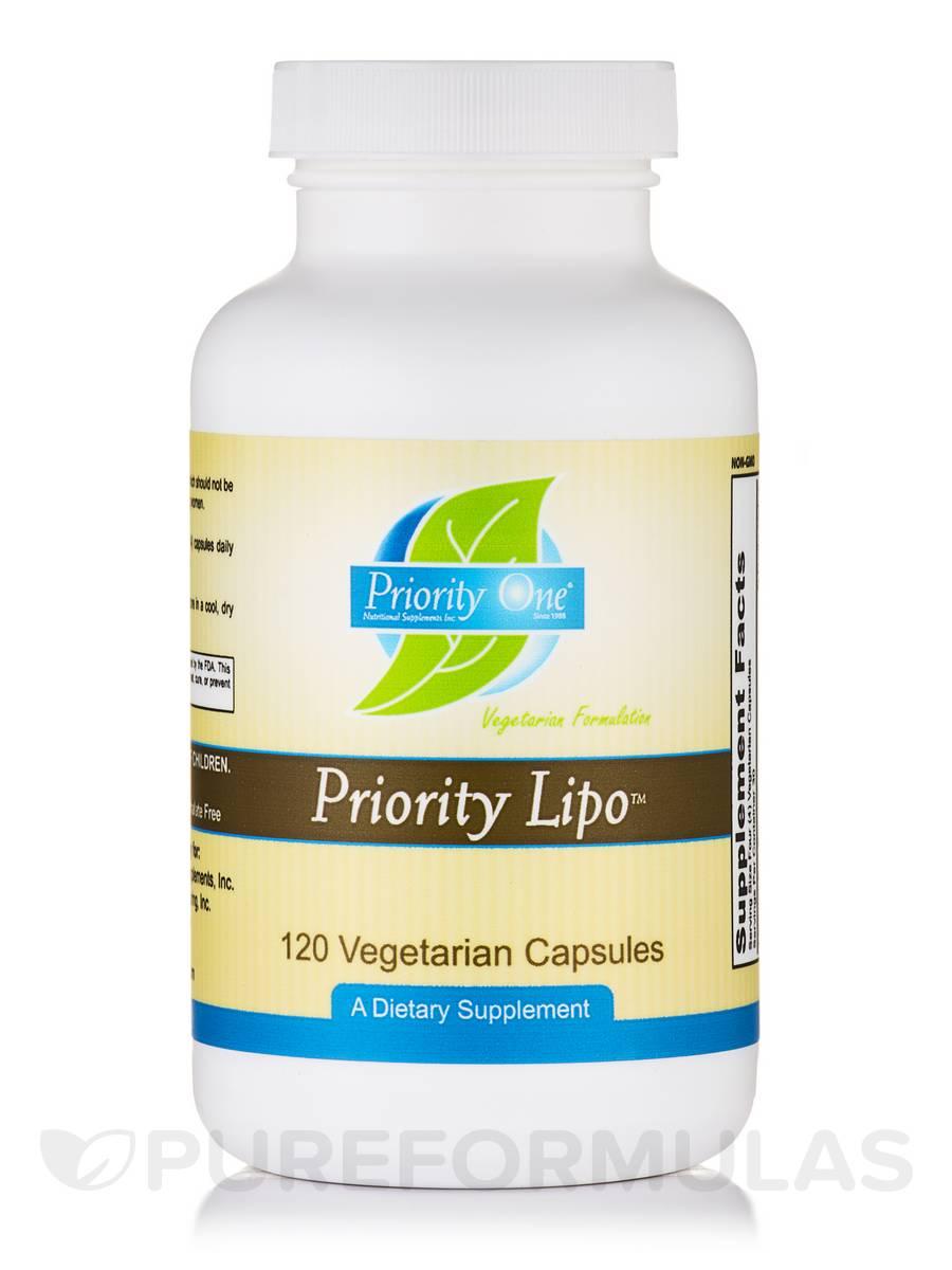 Priority Lipo - 120 Vegetarian Capsules