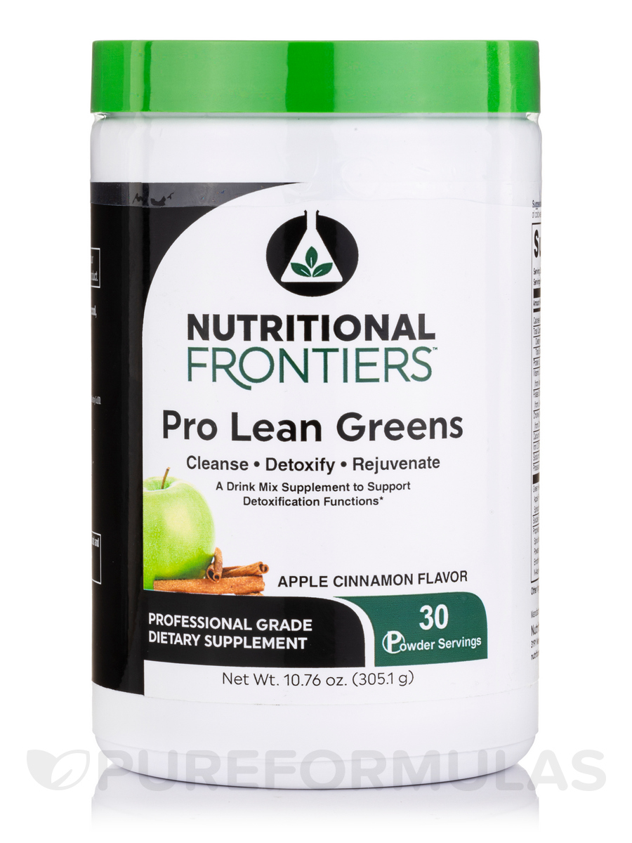 Lean Greens (Detoxifier) - 30 Vegetarian Servings (12.57 oz / 356.25 Grams)