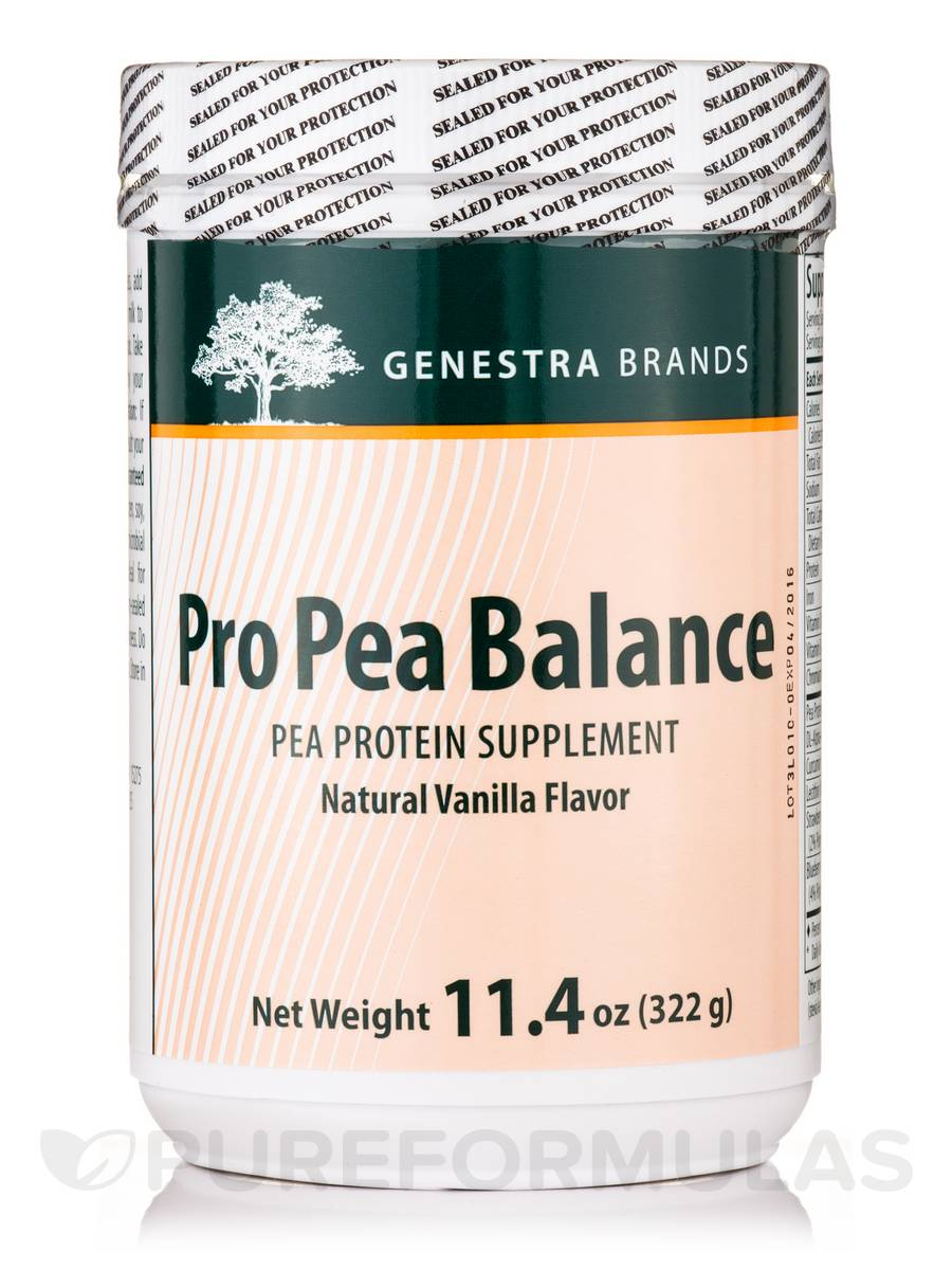 Pro Pea Balance (Vanilla) - 11.4 oz (322 Grams)