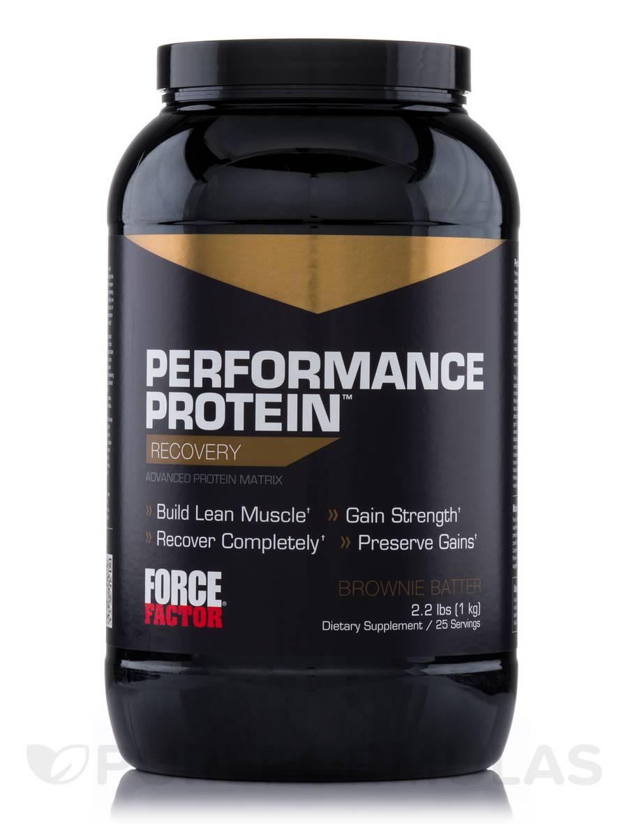 Performance Protein Brownie Batter - 22 Servings (2.2 lbs / 1 kg)