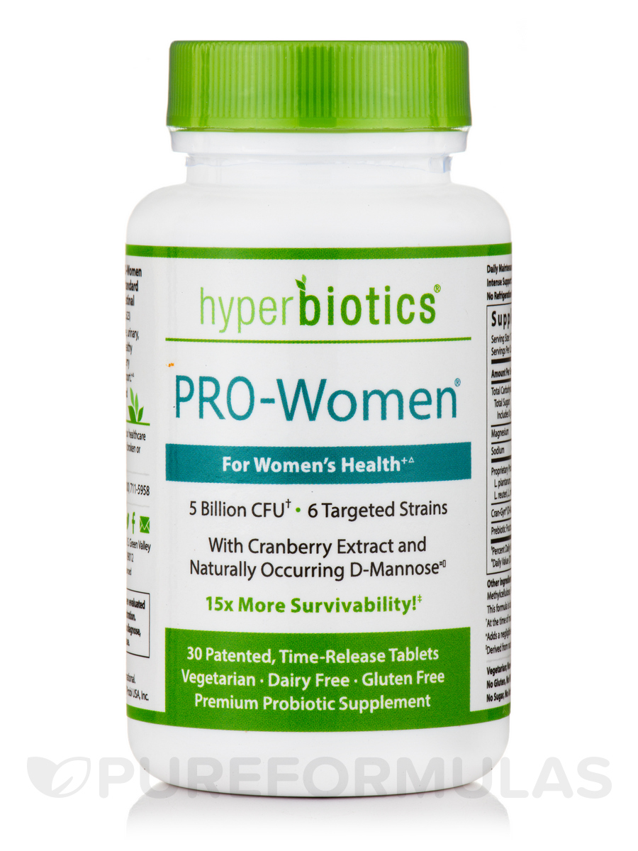 Hyperbiotics PRO-Women® - 30 Time-Release Tablets
