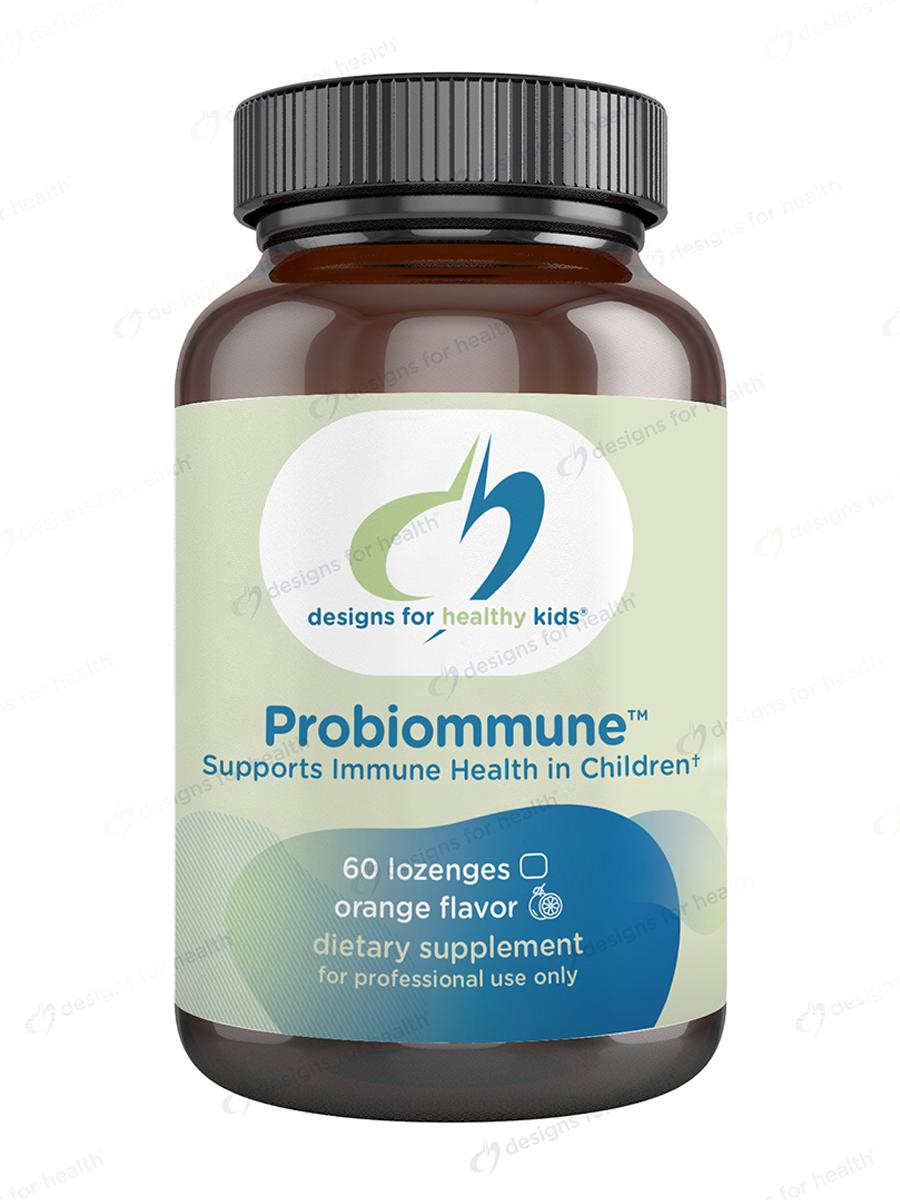 Probiommune™, Natural Strawberry Flavor - 60 Lozenges