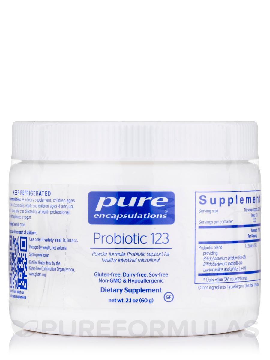 Probiotic 123 (dairy-free) - 80 Grams
