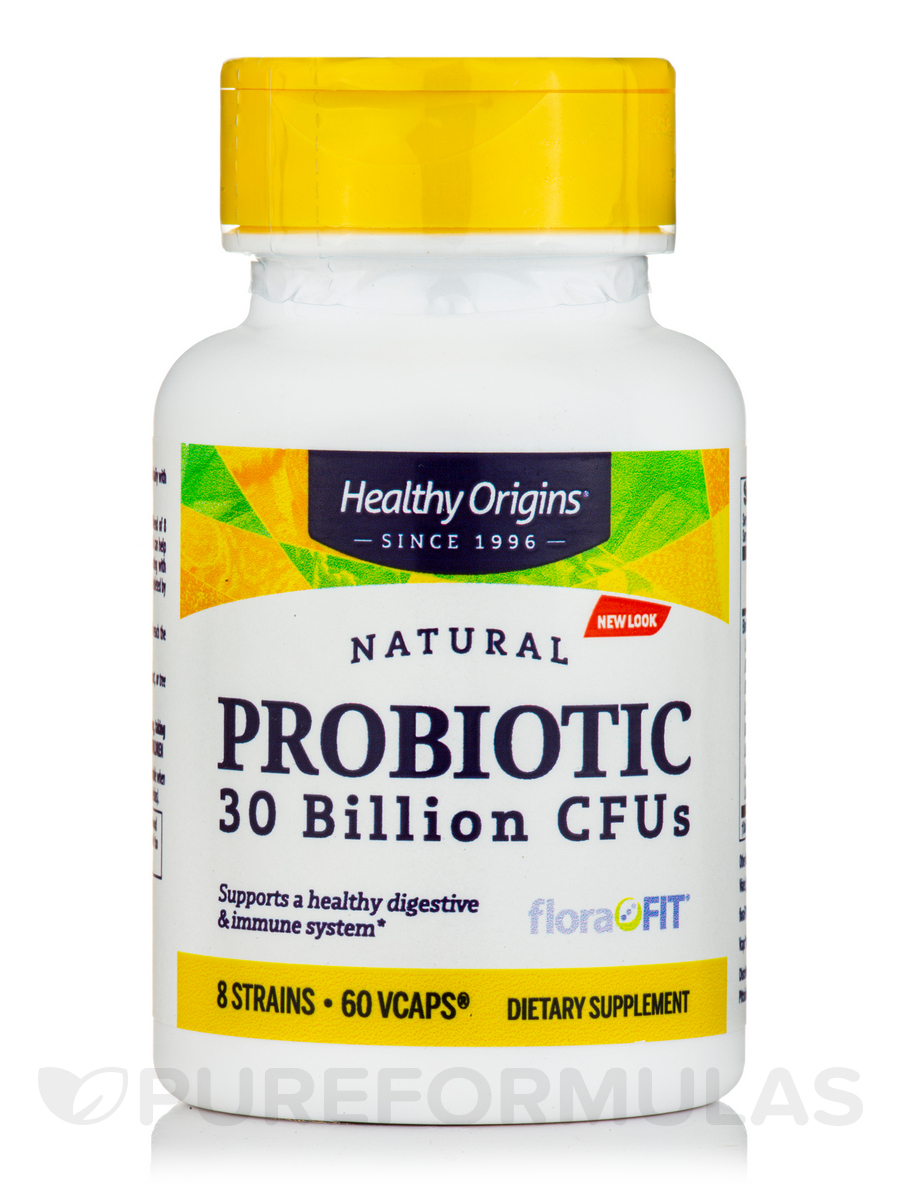 Probiotic 30 Billion CFU's (Shelf Stable) - 60 Vegetarian Capsules