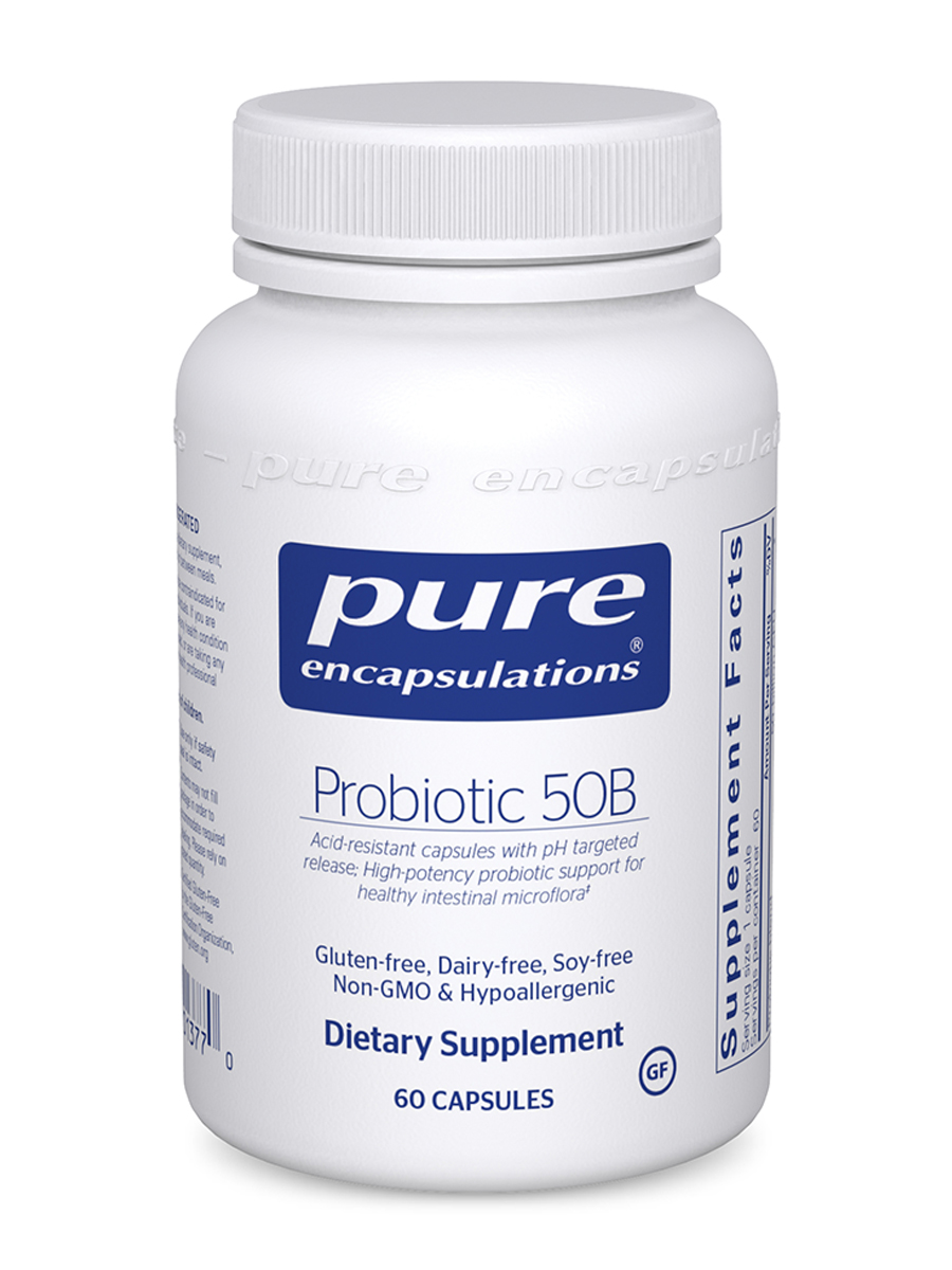 Probiotic 50B (soy and dairy free) - 60 Capsules