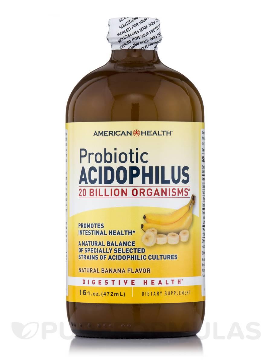 Probiotic Acidophilus Culture Banana - 16 fl. oz (472 ml)