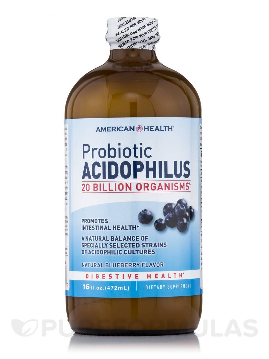 Probiotic Acidophilus Culture Blueberry - 16 fl. oz (472 ml)