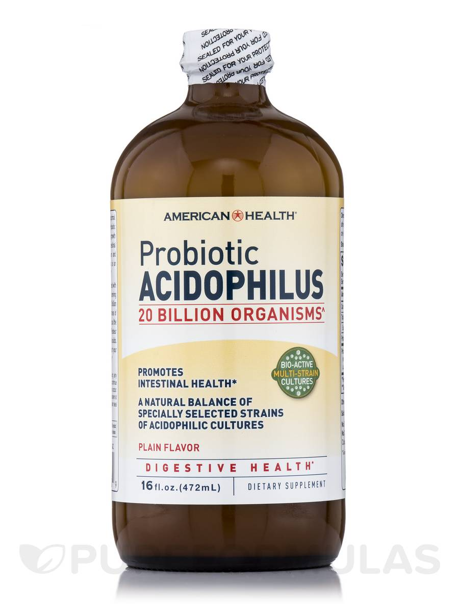 Probiotic Acidophilus - 16 fl. oz (472 ml)