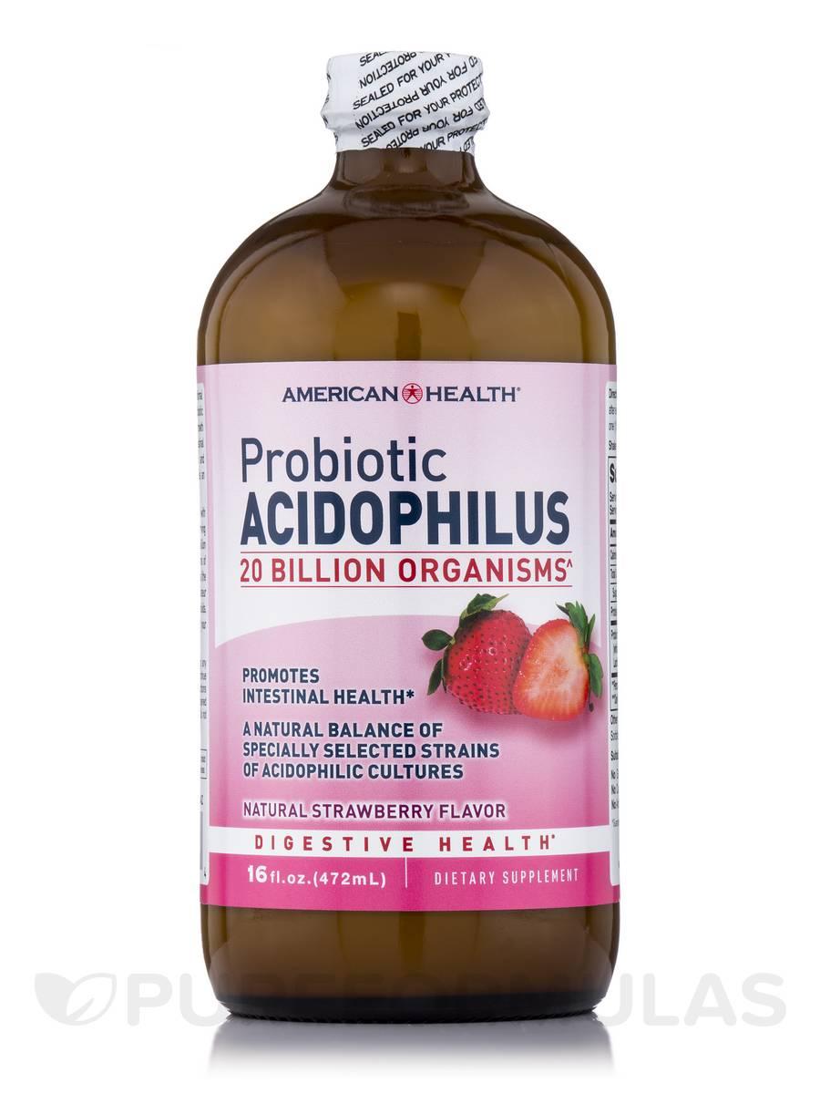 Probiotic Acidophilus Culture Strawberry - 16 fl. oz (472 ml)