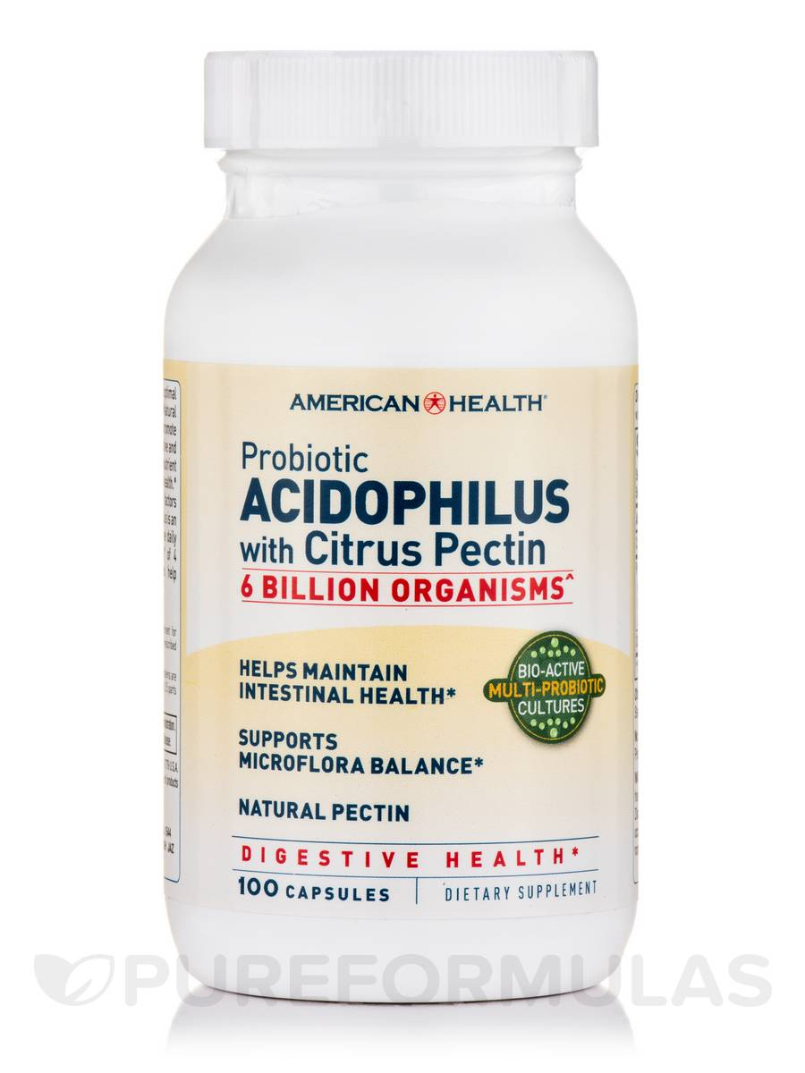 Probiotic Acidophilus with Citrus Pectin - 100 Capsules