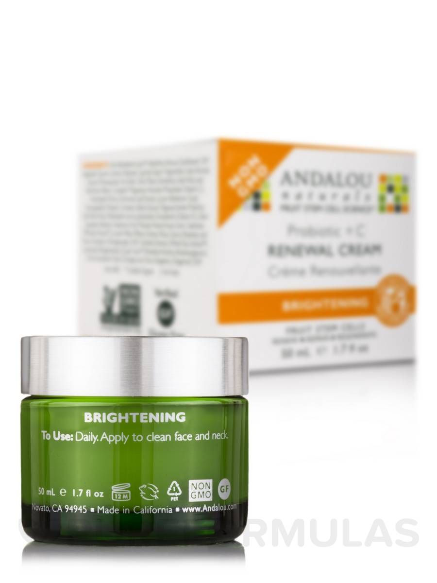 Andalou Naturals, Renewal Cream, Probiotic + C, Brightening, 1.7 fl oz (50 ml)(Pack of 3) (6 Pack) ETUDE HOUSE Moistfull Skin Collagen Skin Care Kit