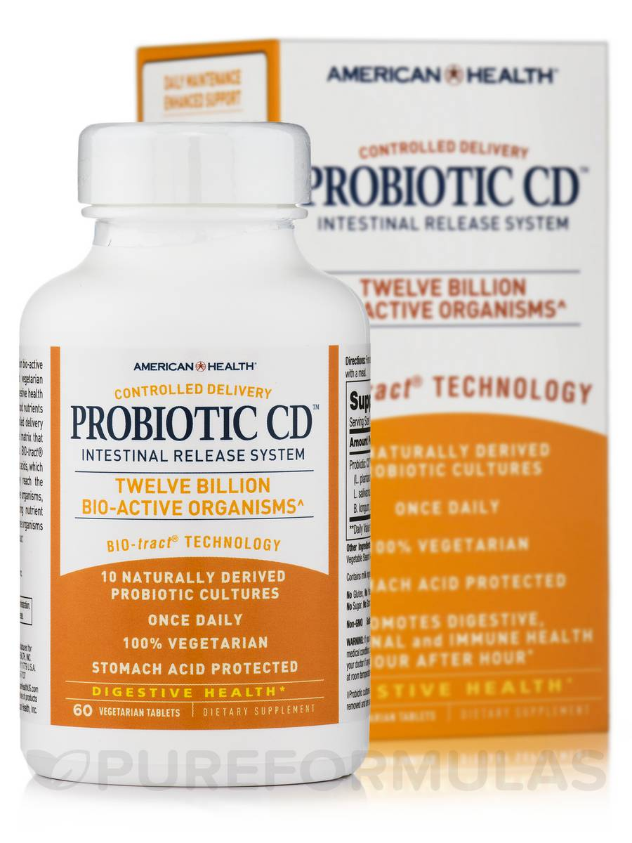 Probiotic CD™ - 60 Vegetable Tablets