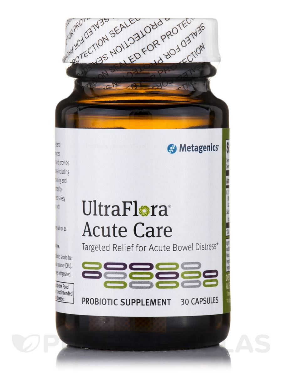 UltraFlora™ Acute Care (formerly Proboulardi) - 30 Capsules