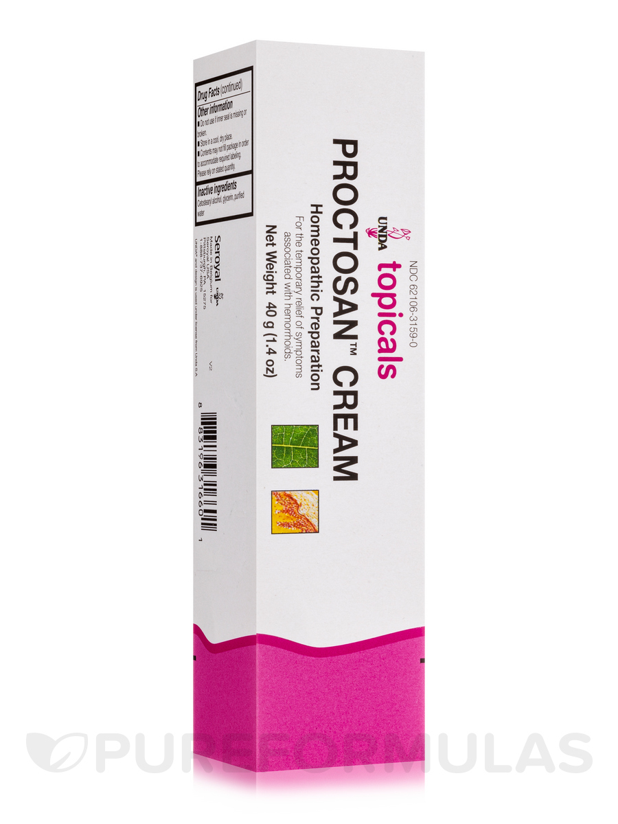 Proctosan Cream - 1.4 oz (40 Grams)