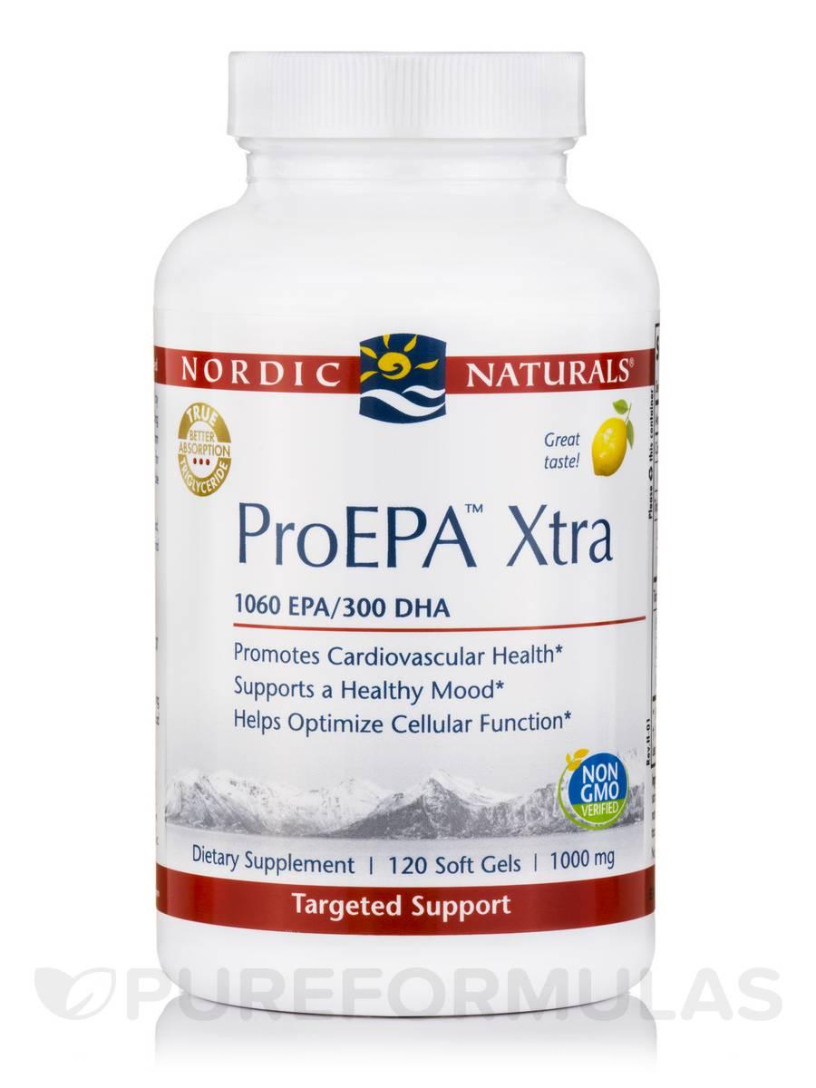 ProEPA™ Xtra 1000 mg, Lemon Flavor - 120 Soft Gels