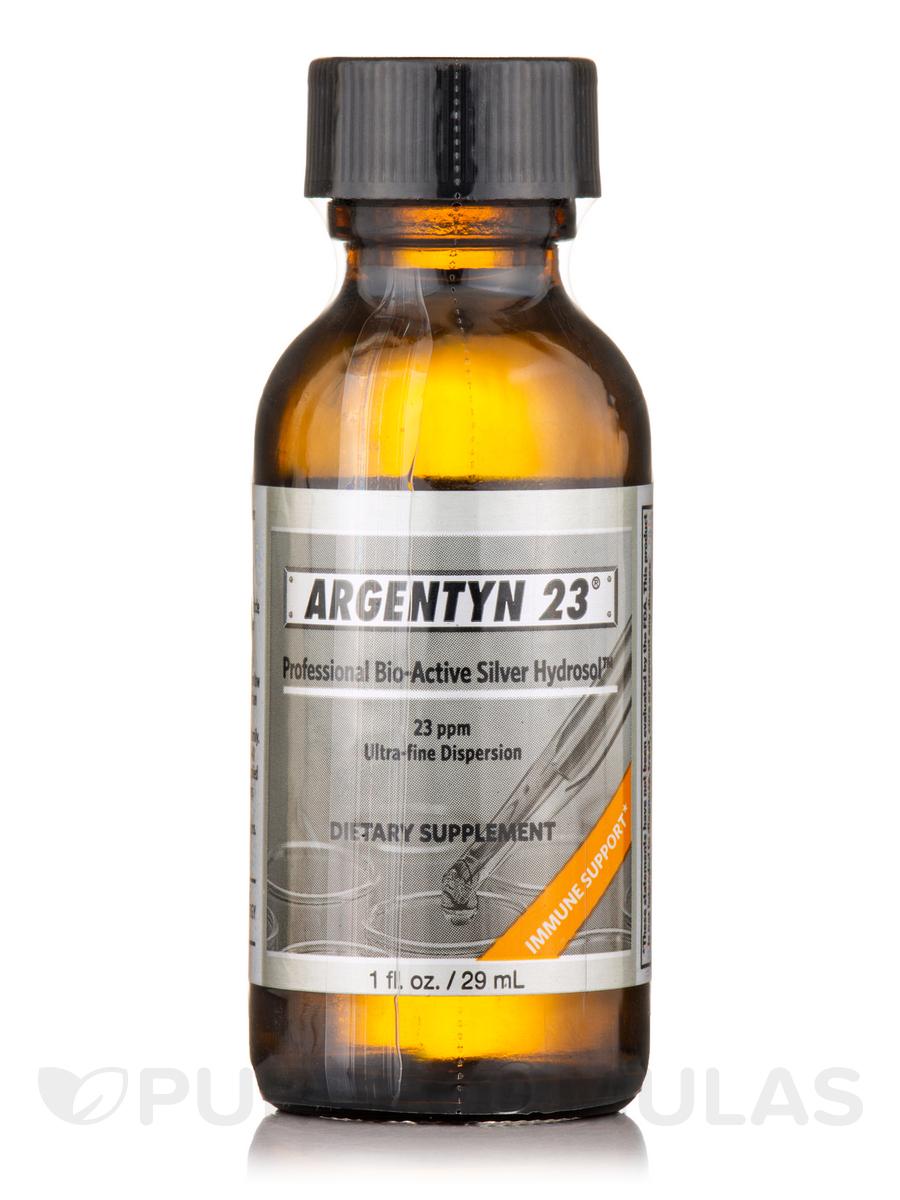 Professional Bio-Active Silver Hydrosol 23 ppm - Twist Top Bottle - 1 fl. oz (29 ml)
