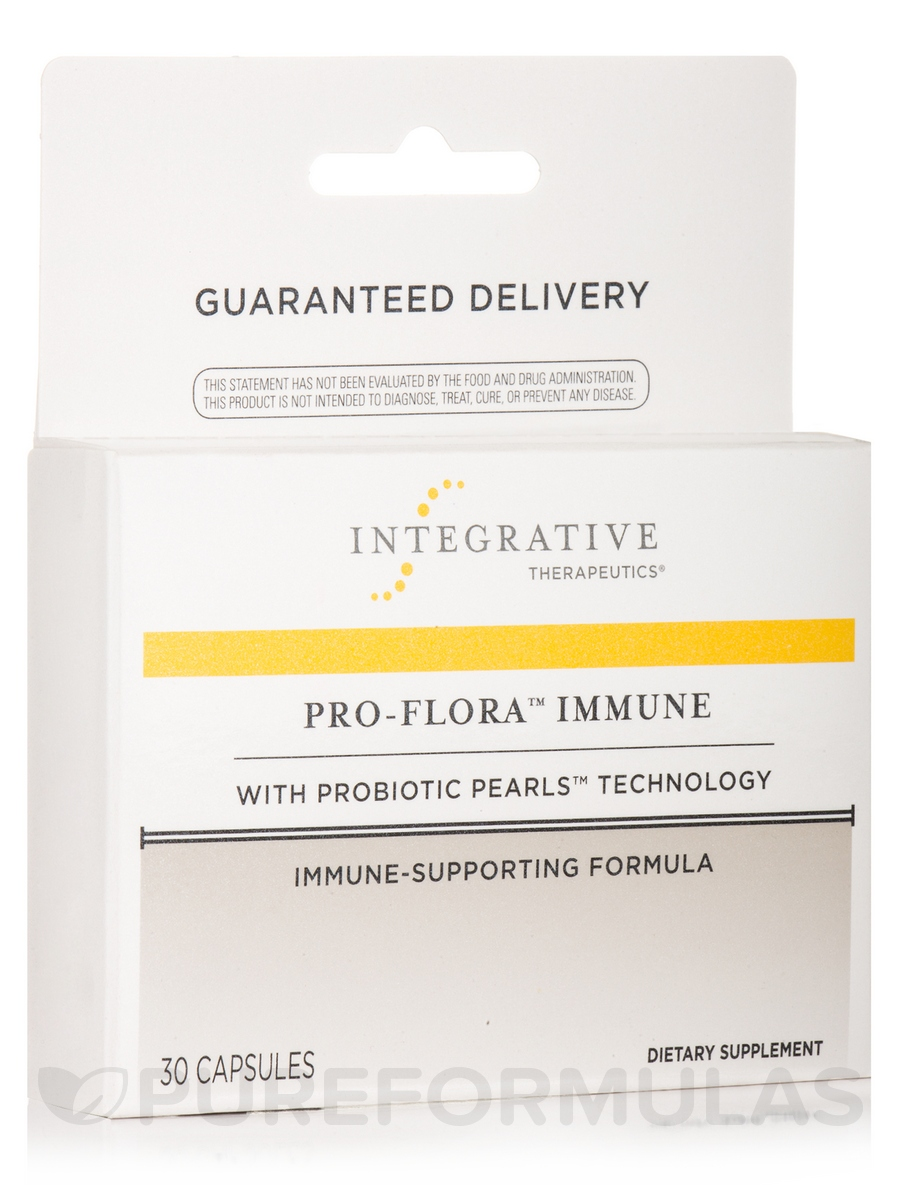 Pro-Flora™ Immune with Probiotic Pearls™ Technology - 30 Capsules
