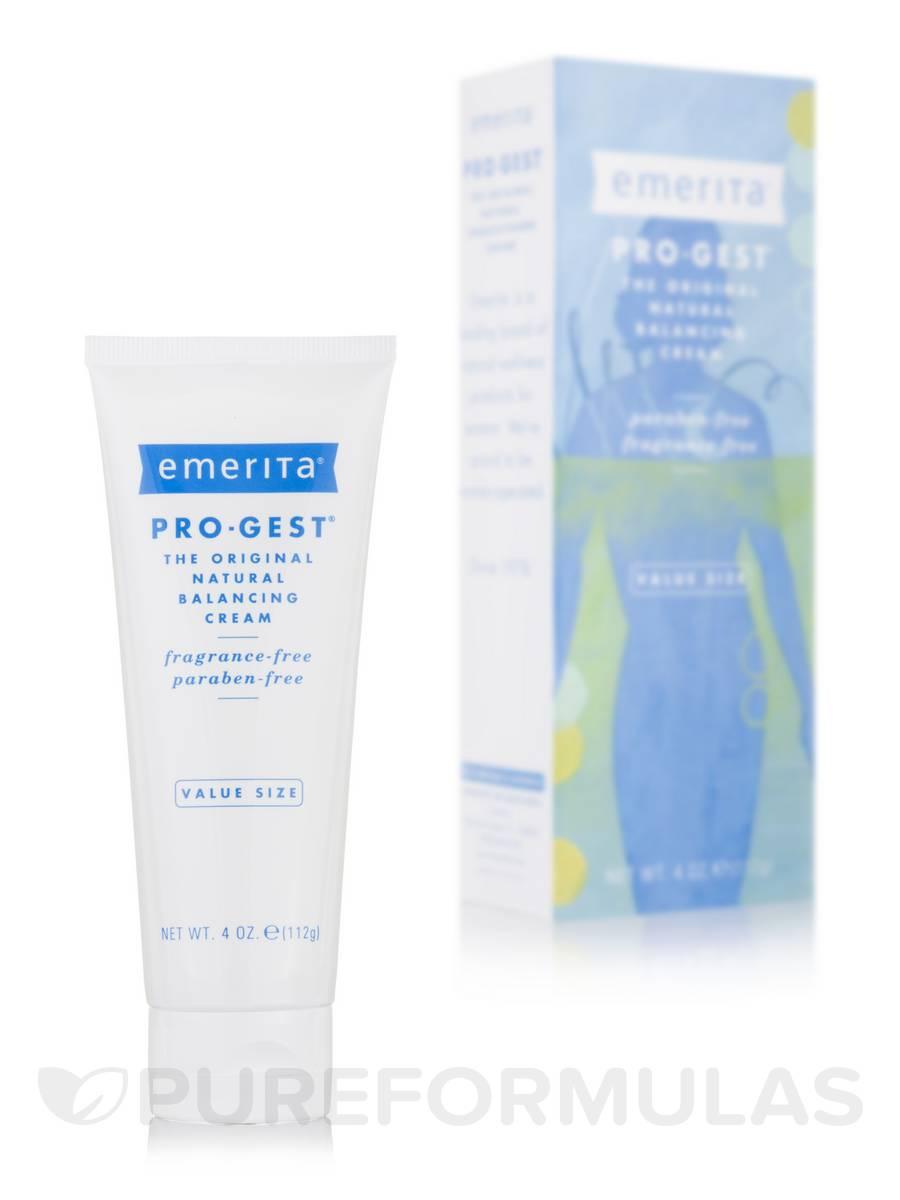 Emerita - Pro-Gest, Balancing Cream, Fragrance Free, 2 oz (56 g) - 3 Packs Night Cream Organic Aloe Logona 40ml Cream