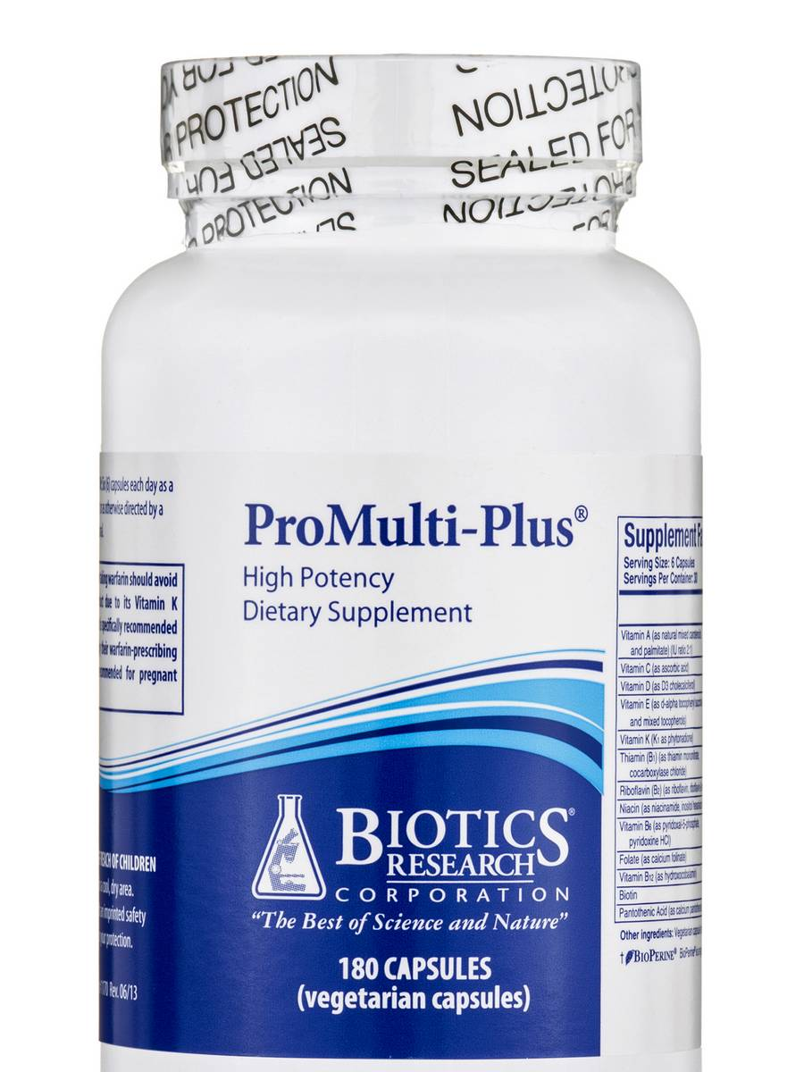 ProMulti-Plus - 180 Vegetarian Capsules