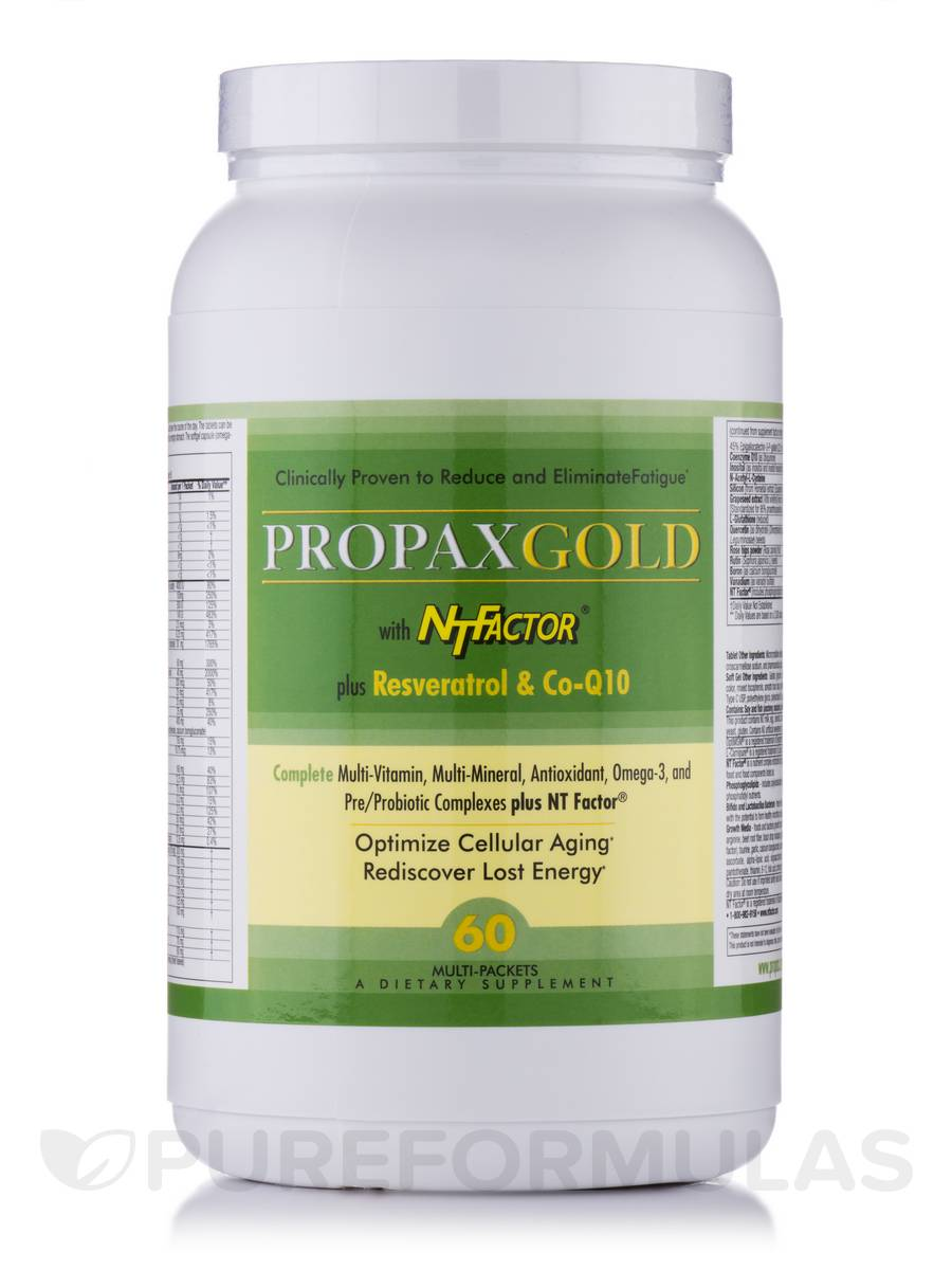 PropaxGold with NT Factor - 60 Packets