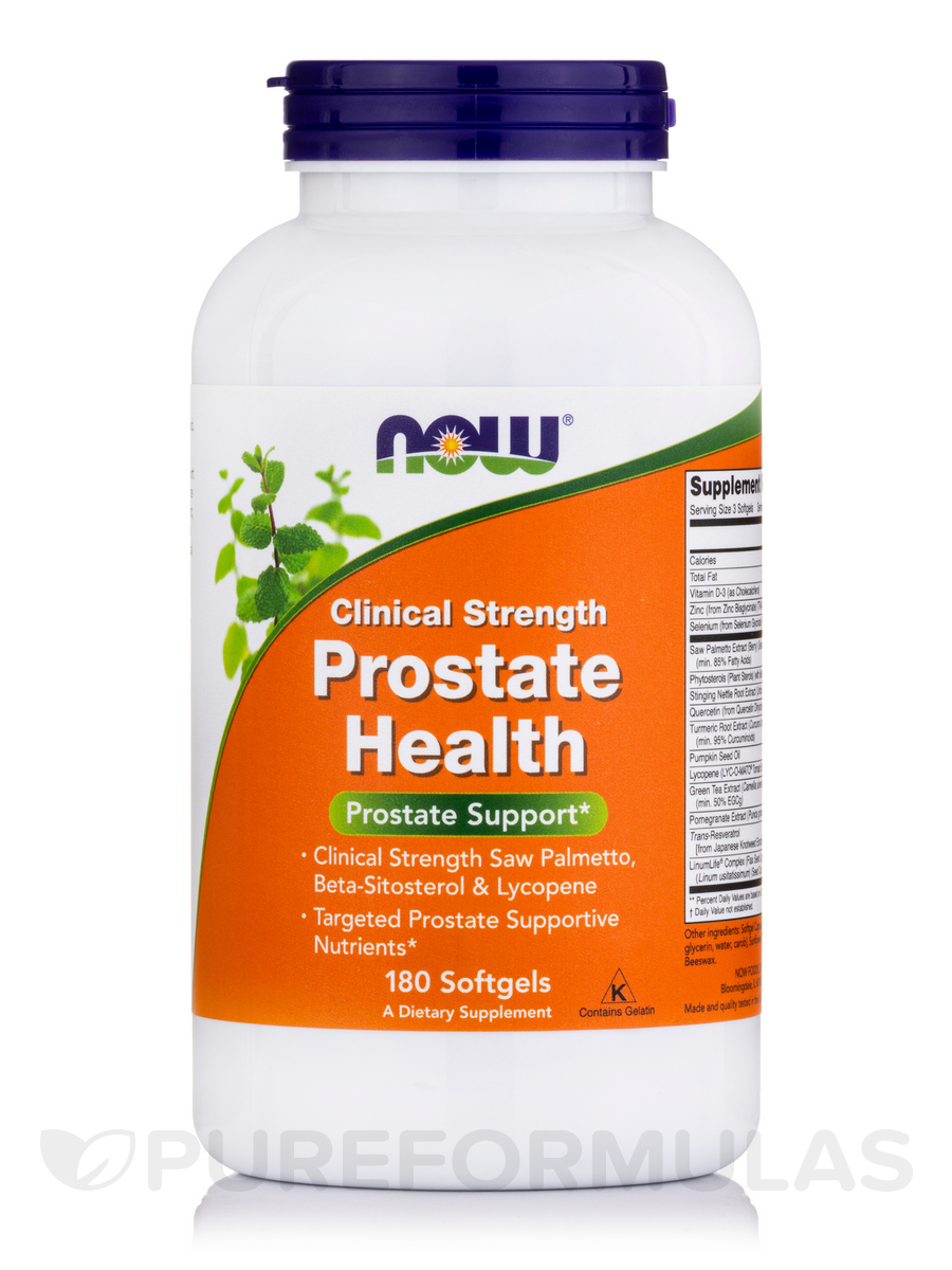 Prostate Health Clinical Strength - 180 Softgels