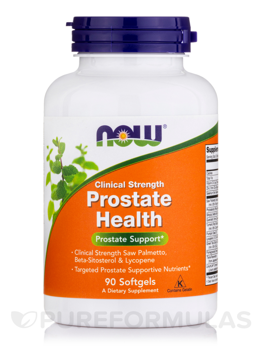 Prostate Health Clinical Strength - 90 Softgels