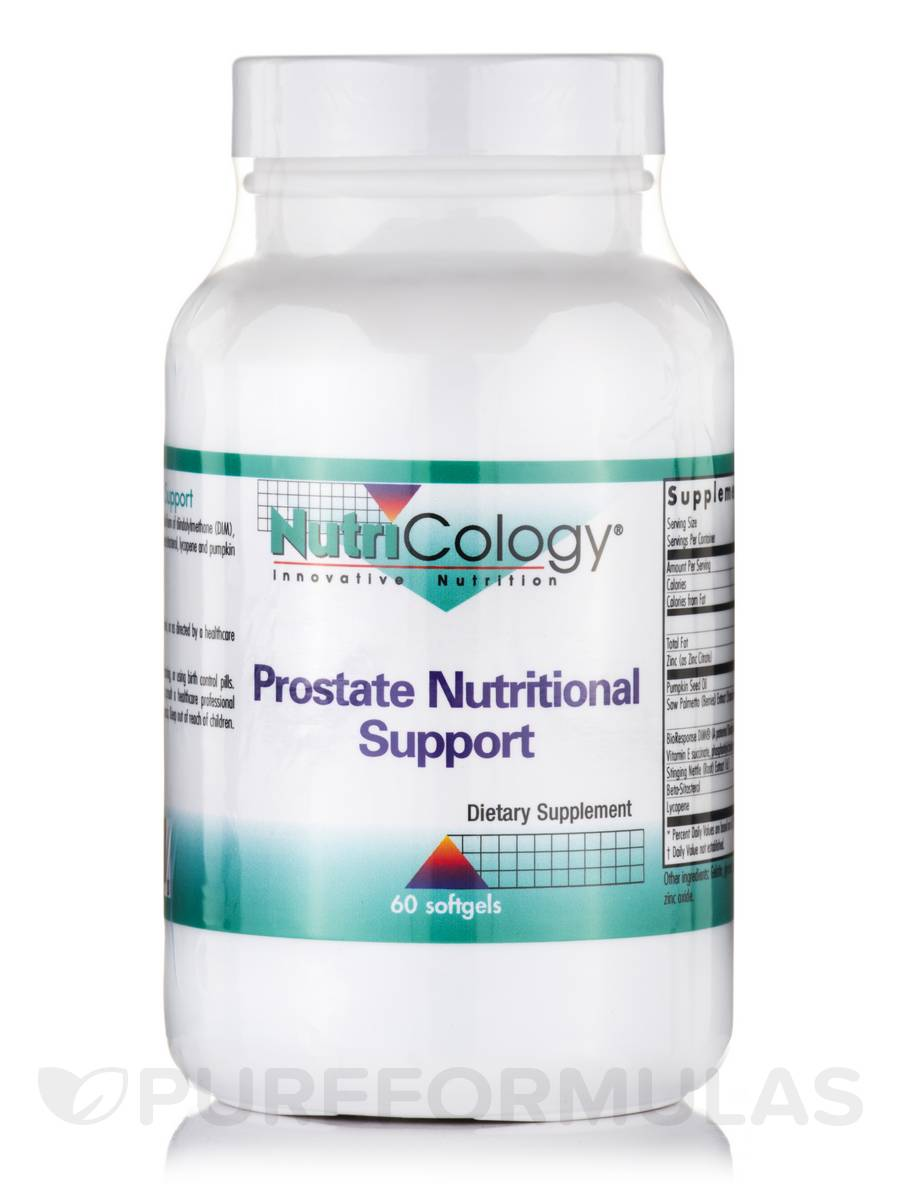 Prostate Nutritional Support - 60 Softgels