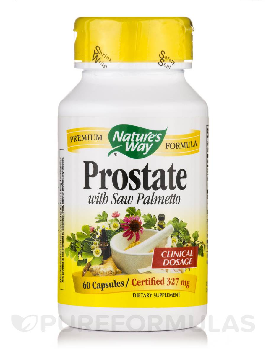 Prostate with Saw Palmetto 327 mg - 60 Capsules